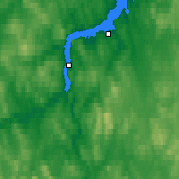 Nearby Forecast Locations - Sněžnogorsk - Mapa