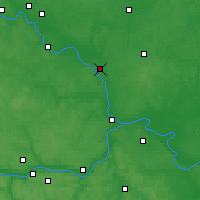 Nearby Forecast Locations - Voskresensk - Mapa