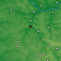 Nearby Forecast Locations - Družkivka - Mapa