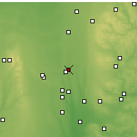 Nearby Forecast Locations - Mount Gilead - Mapa