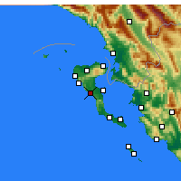 Nearby Forecast Locations - Parelioi - Mapa
