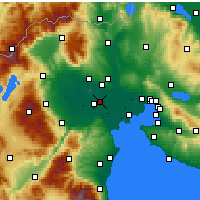 Nearby Forecast Locations - Platy - Mapa