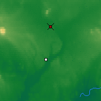 Nearby Forecast Locations - Koliganek - Mapa