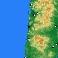 Nearby Forecast Locations - Pacific City - Mapa
