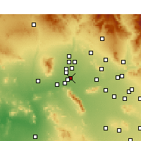 Nearby Forecast Locations - Avondale - Mapa