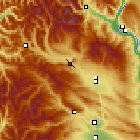 Nearby Forecast Locations - Cle Elum - Mapa