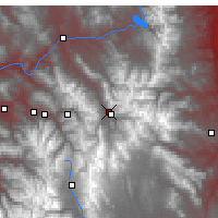 Nearby Forecast Locations - Silverthorne - Mapa