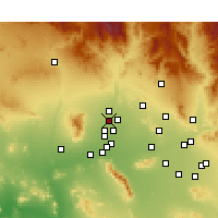 Nearby Forecast Locations - Surprise - Mapa